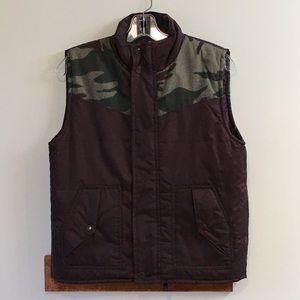 Athletech Sz 10/12 Brown Camouflage Vest